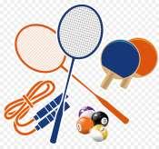 Badminton-Tennis-Table Tennis