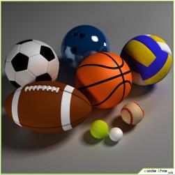 Basketball-Baseball-Handball-Netball