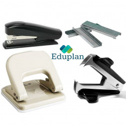 STAPLER,STAPLE PINS & REMOVER, PUNCHES